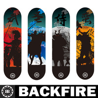 Backfire 2013 the new canadian maple skateboard deck board skates