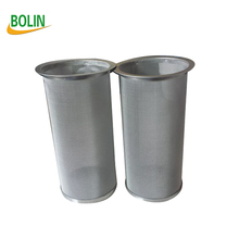 Cold brew iced coffee stainless steel wire mesh cylinder filter