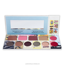 Small MOQ 11 Color Makeup Color Cosmetics Private Label Palette Eyeshadow