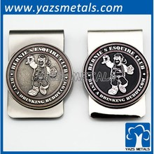 cheap promotional metal Money Clips for Men