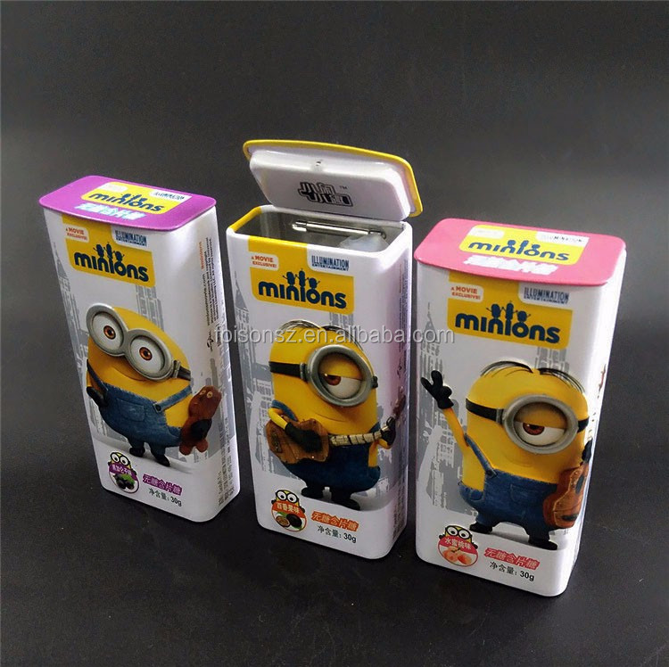mini pepper mint tin box for promotion