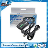 AC Power Adapter Supply Convert Charger USB Data Cable For PSV PS Vita (EU )