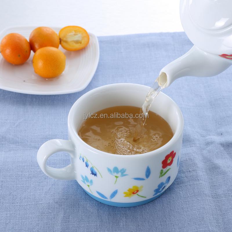 China Factory Ceramic Tea Pot In One Big Tea Cup Buy Big