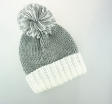Custom made new import women's knitted cable pattern ski hat