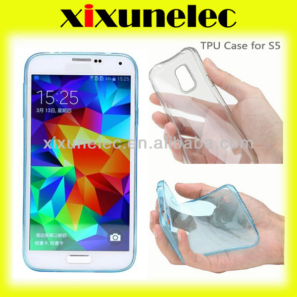 Soft Clea TPU Case for Samsung Galaxy S5