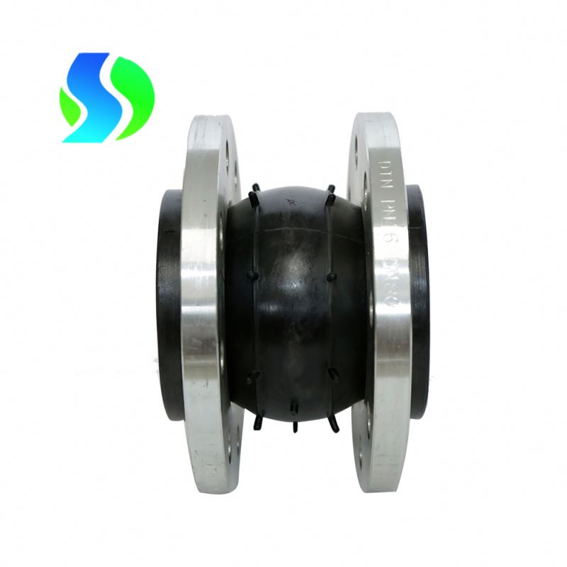 5% discount flanged single ball rubber expansion joint