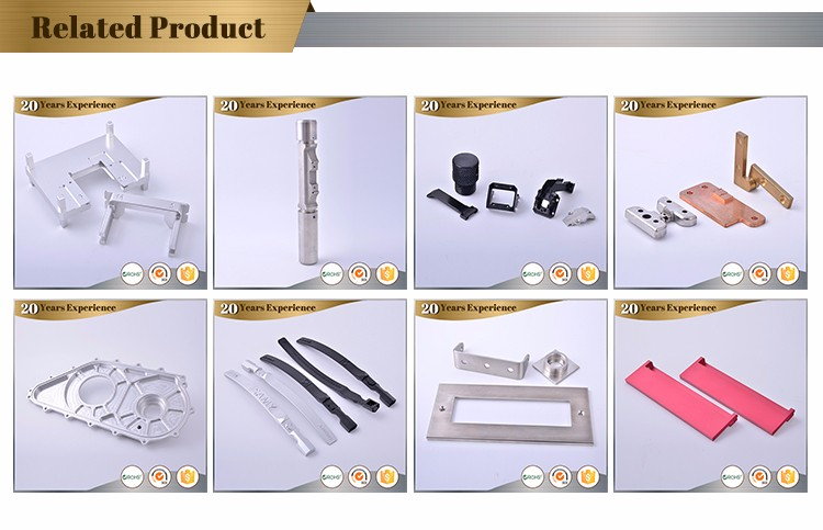 china professional supplier precision fabricate CNC milling parts cnc work