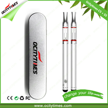 Ocitytimes unique design 510 e-cigarette wholesale/ e cig cartridges filling/ cbd vape pen kit rechargeable