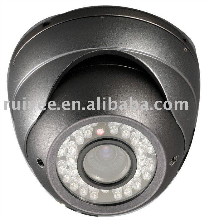"RY-802D 700TVL IR Vandal-proof 2.8 -12mm EFFIO 1/3"" SONY CCD CCTV Outdoor Dome Camera"