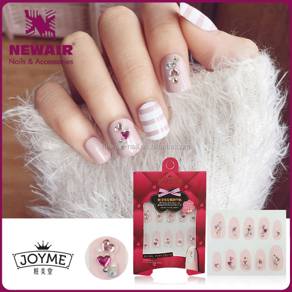 New products 2017 jewelry 3D decoration nail art