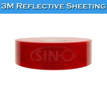 1.22x45.7m 3932 Red 10 Years 3M Reflective Film Reflective Sticker Paper