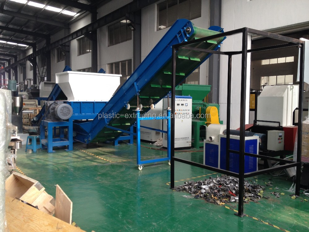 Hard Plastic/Wood Double Shaft Shredder Machine Price For Sale