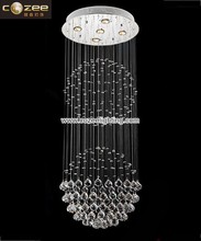 Modern Contemporary Design Lead K9 Crystal Chandeliers Ceiling Hanging Lamps Lights Lighting Fixtrure CZ8020/5