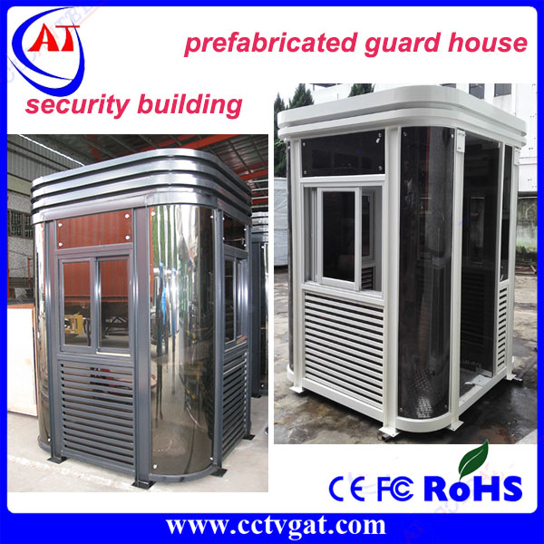 Security sentry box and temporary guard house & prefabricated sentry box