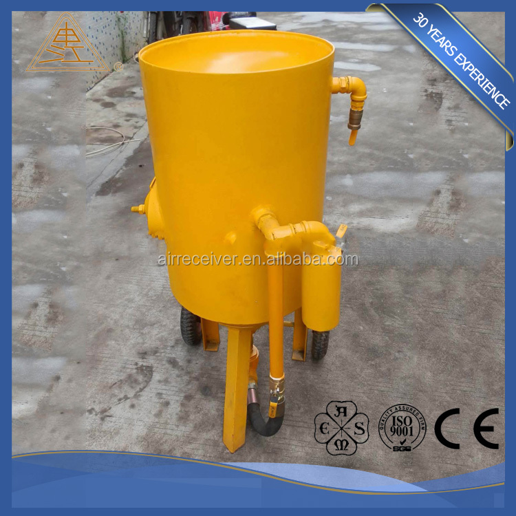 New innovative products 2017 movable sand blasting pot new technology product in china