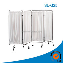 4 Folder Ward Screen Curtain Hospital Ward Bed Screen Folding Screen