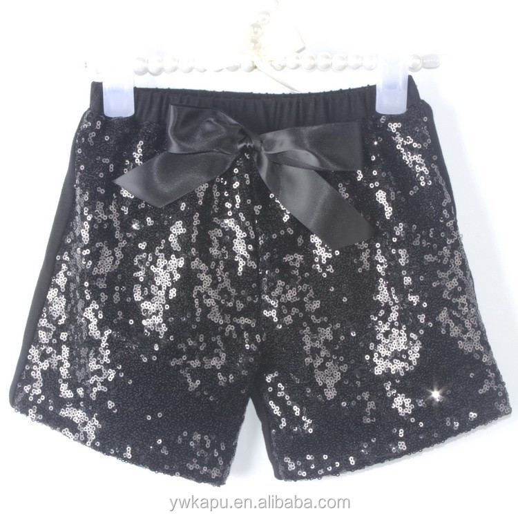 2015 Hot Sale Girl Shorts Sequins Princess Short Pants For Girls