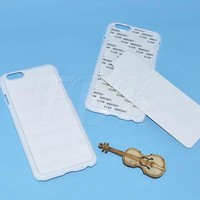 New Professional Sublimation 2D phone case for iPhone 6 6plus