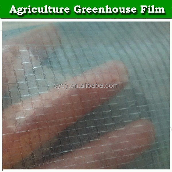 200 micron farm plastic-covered tunnel greenhouse film covering