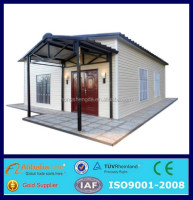 the prefab house mobile modern light steel frame beautiful house model