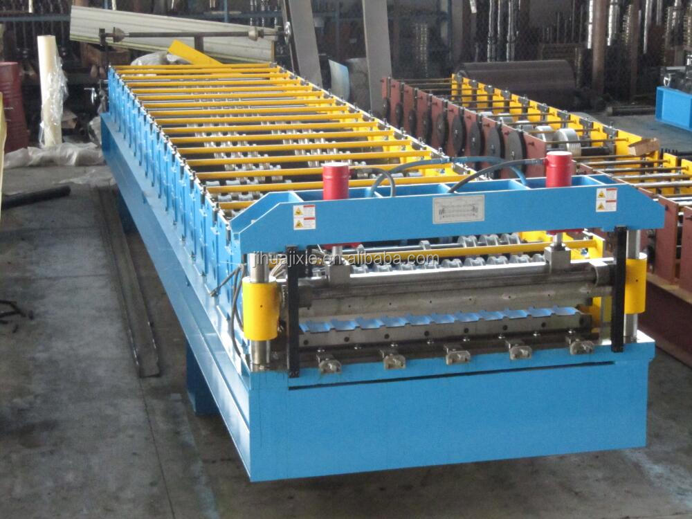 Roofing Steel Glazed Tile roofing sheet Making Machine