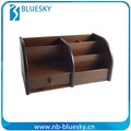Natural Good gifts wooden desk storage box