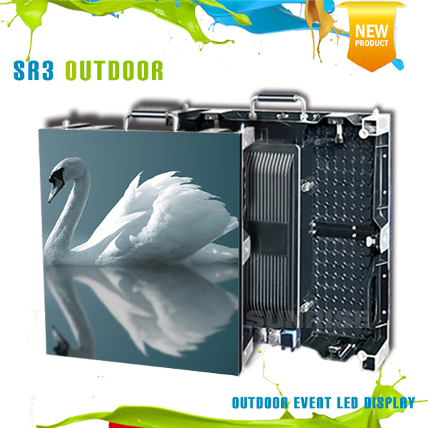 Hot sale outdoor rental p3 p3.91 led wall screen showing perfect visual experience for outdoor event production
