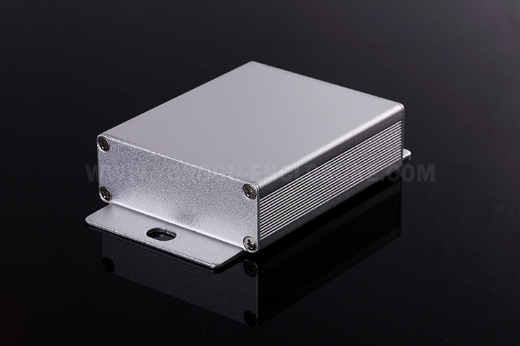 64x23.5x75 mm Electronics Custom Aluminum Case Aluminum Watertight Box for PCB industry