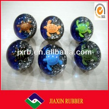 Wholesale personalized bouncy balls,2014 rubber small best personalized bouncy balls
