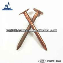 Hard copper clout nails copper nail
