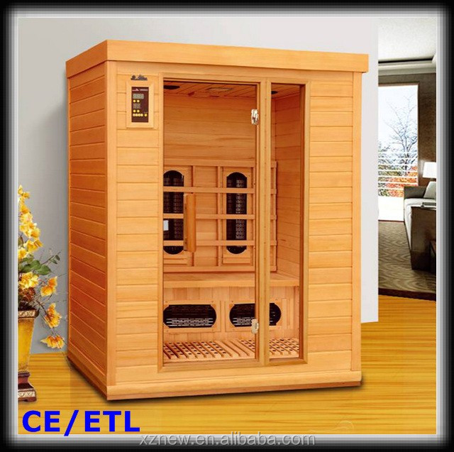 sauna radio 3 person ceramic infrared sauna