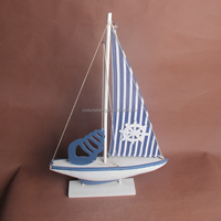 latest design of sailboat models wooden decoration crafts