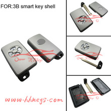 New style smart key cover 3 button for Toyota with logo