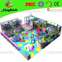 luxury multi functional indoor playground equipment