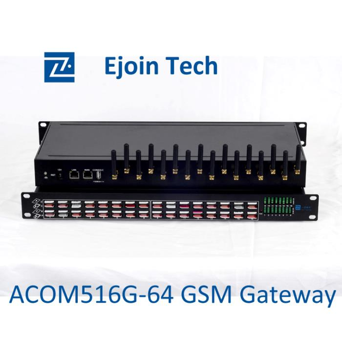 16 channels gsm voip gateway compatible with Asterisk softswitch device
