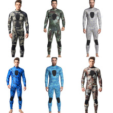 Professional High Quality Popular 3mm Neoprene Spearfishing Wetsuit Scuba Diving Full Body Suit Camouflage Wetsuit For Men