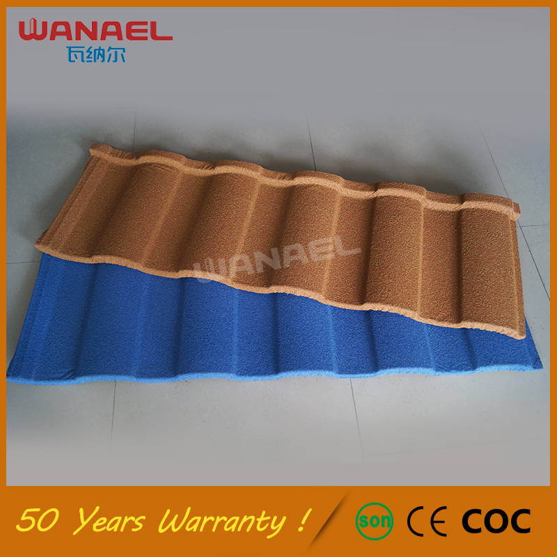 China Building Materials Wanael Looking For Distributors In Africa, 50 Years Warranty Free Sample Double Roman Roof Tile