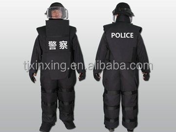 full kevlar body armor police protection suit