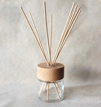 Room Freshener Reed Diffuser 100ml Glass Bottle with Wood Cap TS-RD179