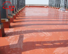 roof waterproof water-based single or double component polyurethane waterproof coating