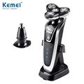Kemei KM8872 2017 Best Men's Shaver 2 in 1 Man's Trimmer and Shaver Electric with Wholesale Factory Price