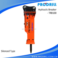 TRB100S silenced type Hydraulic Excavator Hammer suitable for various excavator