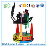 Popular amusement park game machine racing car simulator 3d program