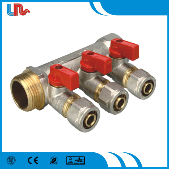 Longrun Art313 Brass Water ball valve Manifold