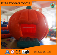 customized size pumpkin lamp modelling baby bouncer inflatable bouncer house for sale