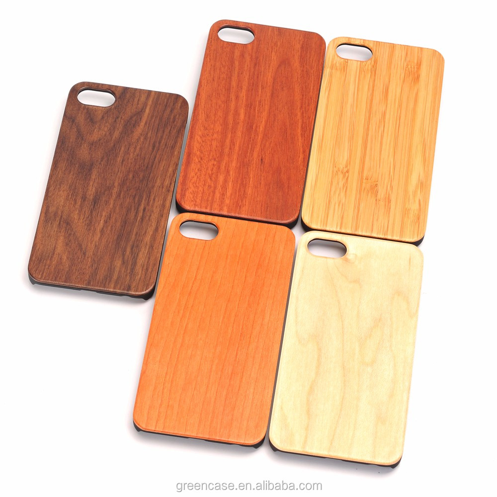 2016 Alibaba Express China Supplier Custom Wood PC Cases for Iphone 7