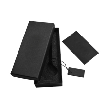 black 300 gsm coated packing jewelry watch sunglasses cigarette storage tea shoe perfume packaging paper box packaging