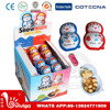 15g sweet funny surprise snowman chocolate egg