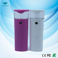 Popular mini electric face steam inhaler, optima steamer for home use and salon use