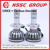 Chinese factory supply CREE 75w 16v voltage car LED headlamp bulb replacement